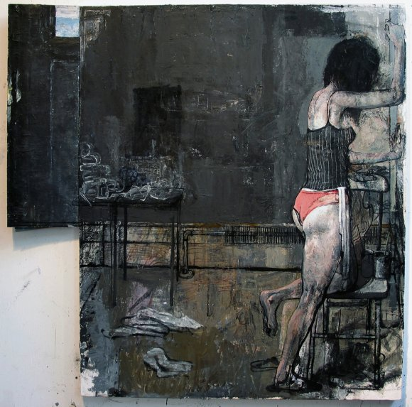 Her Studio, Black Wall